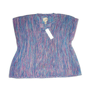 New Peek Sweater Purple Sleeveless 2XL 12 Girls